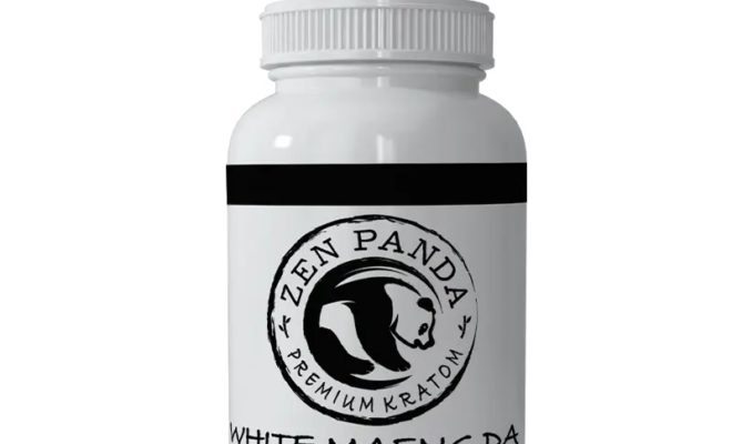 White Maeng Da Kratom Capsules by Zen Panda Review