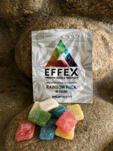 Delta Effex Rainbow Pack Premium Delta 8 THC Gummies